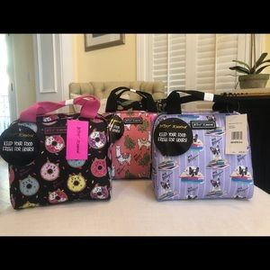 CHOICE NWT Betsey Johnson Insulated Lunch Tote